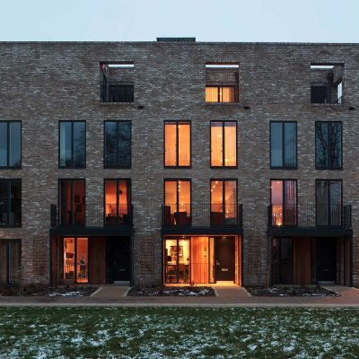 Accordia, Cambridge.  Feilden Clegg Bradley Studios, Alison Brooks Architects and Macreanor Lavington
