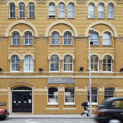 Kirkcaldy Testing Museum. Southwark.  Thomas Roger Smith