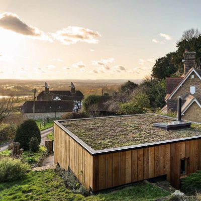 Architect's Practice c/w Sedum roof. CF Architects