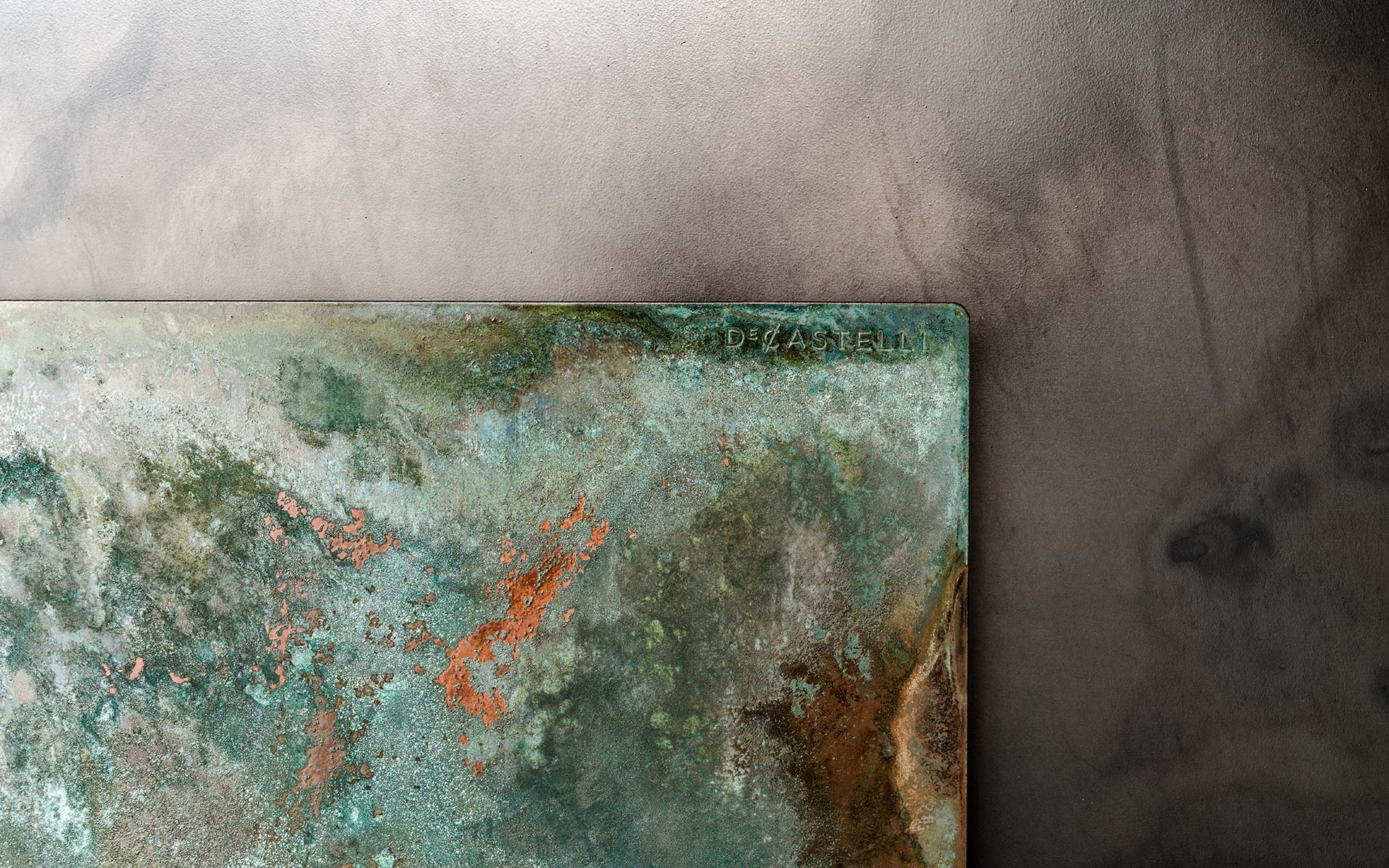 a close up of design metals and textures