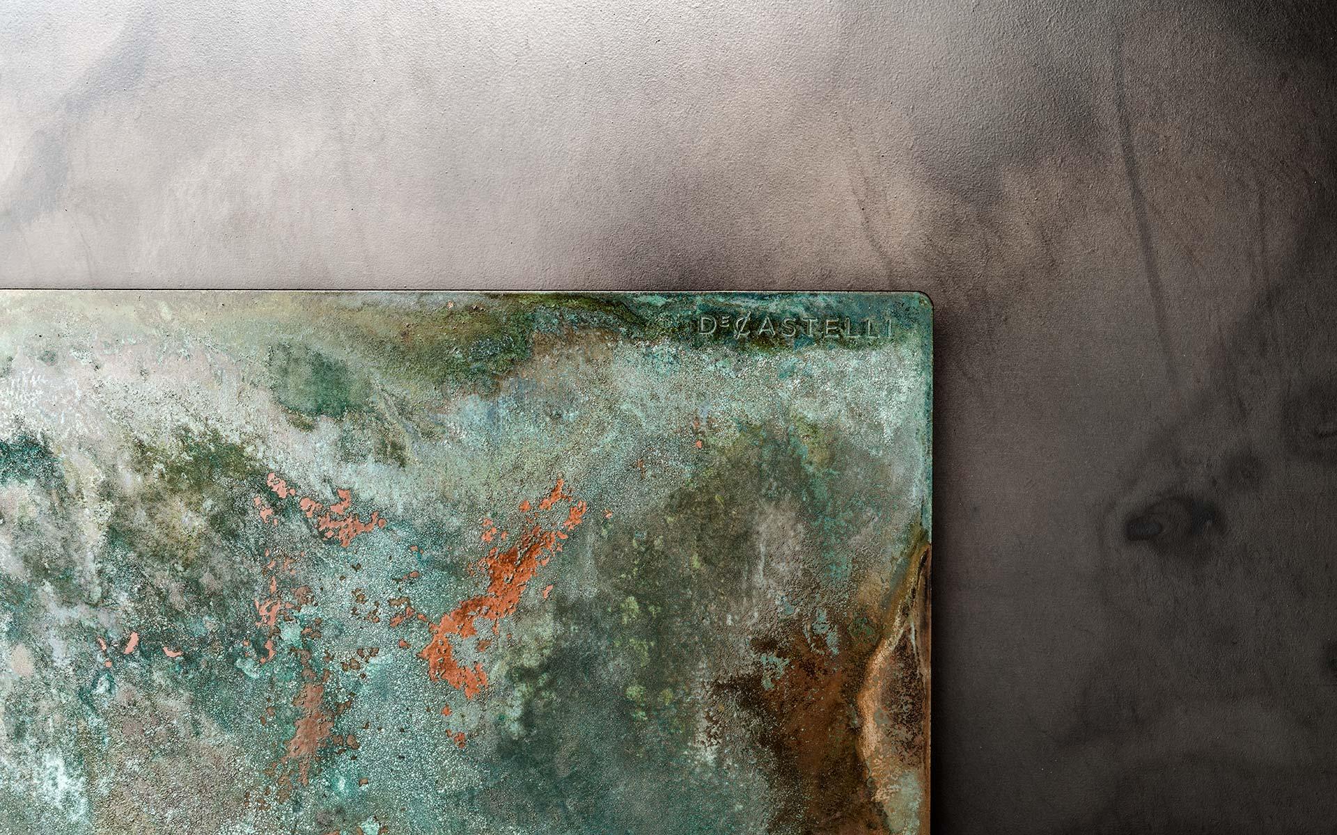 a close up of design metals and textures