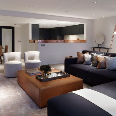 Luxury Shad Thames apartment - Maisha Design. Styling and pr by Niche pr