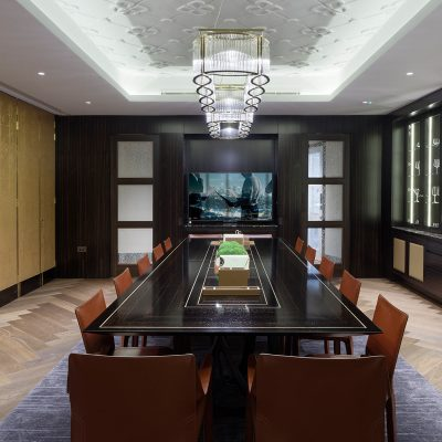 Harrison Varma's luxury conference facilities at their Buxmead Development. The Bishops Avenue, Hampstead
