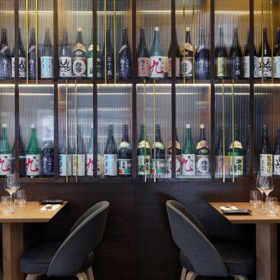 Anzu, Piccadilly. Fit out by Ledbury Construction