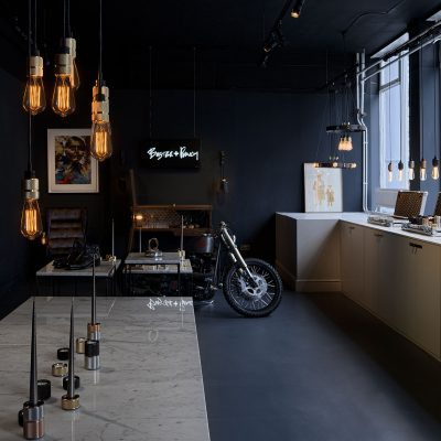 Buster and Punch. Borough showroom