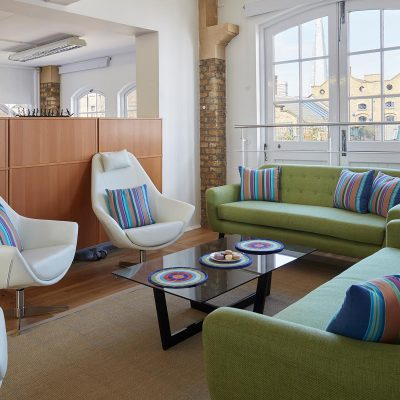 Shad Thames office. Maisha Design