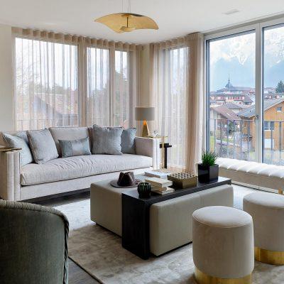 Interlaken luxury apartment. Interior Design by Maisha Design. Styling and PR by Niche pr