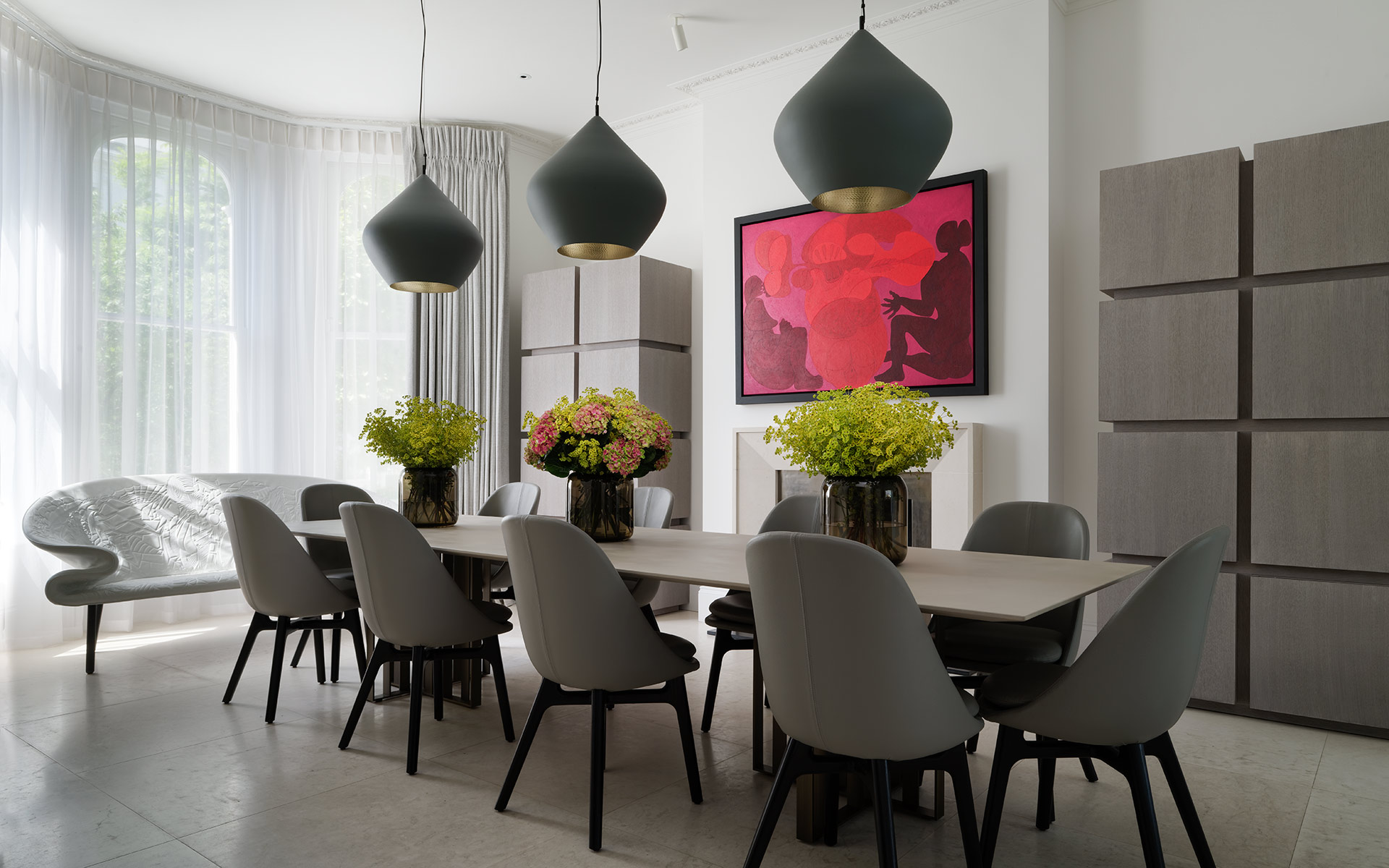 Interior Design by Staffan Tollgard Design Group