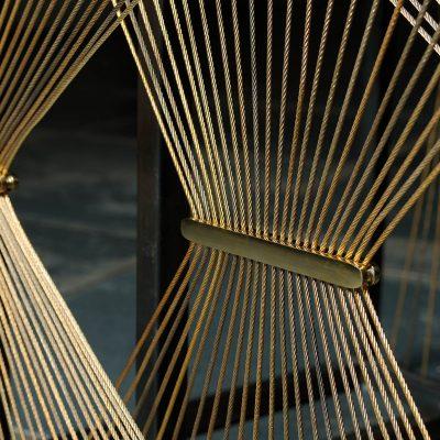 AEGIS 001. Braided steel detail. Design by Alonaizy