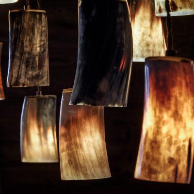 Bespoke lighting detail by Laughland Jones
