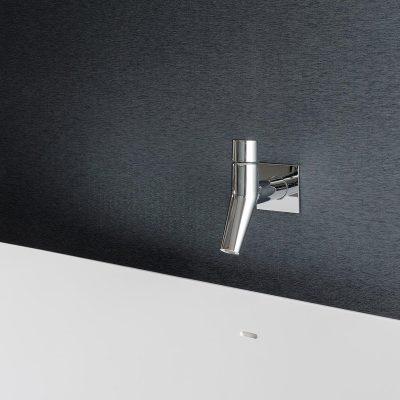 Monochrome bath detail. Hoban Design