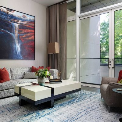 Luxury Duplex Apartment. Interior Design by Hartmann Designs London