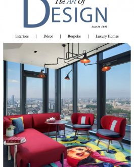 Front Cover Photography for The Art of Design and Staffan Tollgard