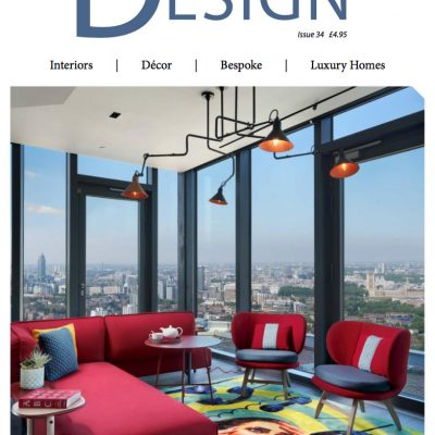 Front cover photography. Staffan Tollgard Design for Uncle's sky lounge with views over London. Interior Design by Staffan Tollgard