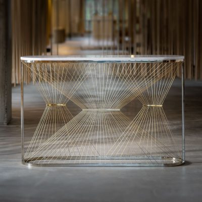 Aegis - P Console Table designed by Ziad Alonaizy