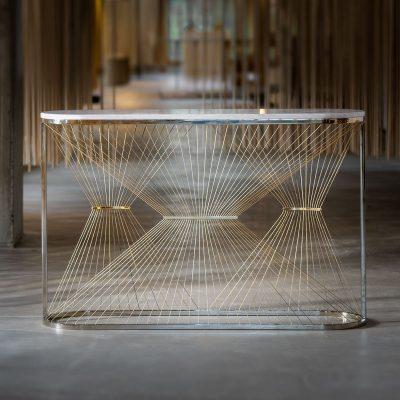 Aegis - P Console Table designed by Ziad Alonaizy
