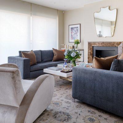 Luxury Kensington apartment design by Corbie Phillips Design Studio