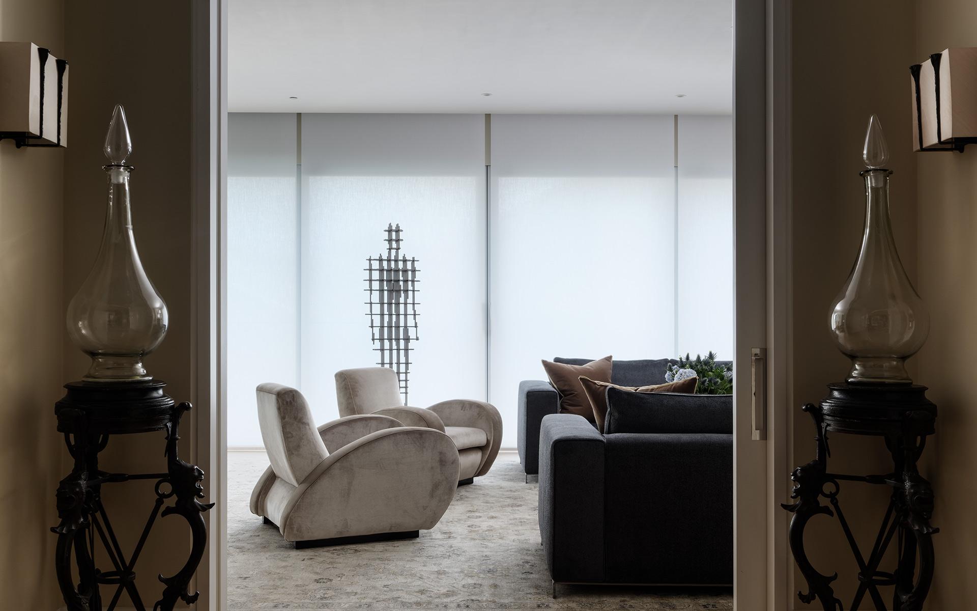 Luxury apartment interior design by Corbie Phillips
