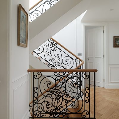 Ornate Staircase. Marie Designs