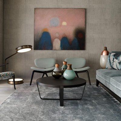 New Ceccotti showroom in collaboration with Tollgård Design Group. Chelsea Design Centre.