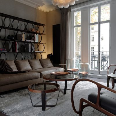 Listed Chelsea residence. Tollgård Design Group