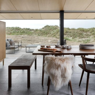 Summer House on Fanō, Denmark. Interior Design by Tollgård Design Group. Architect - Knud Holscher