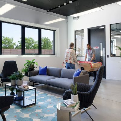 Cloud NC breakout space. Interior Design by Haley Mclane