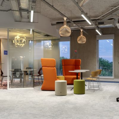 Booking.com's new  European customer service HQ. Tourcoing, Lille, France. Agilité Solutions.