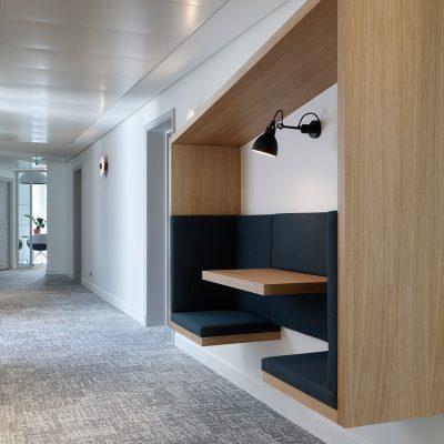 Work pod. Meridiam, Paris. Agilité Solutions