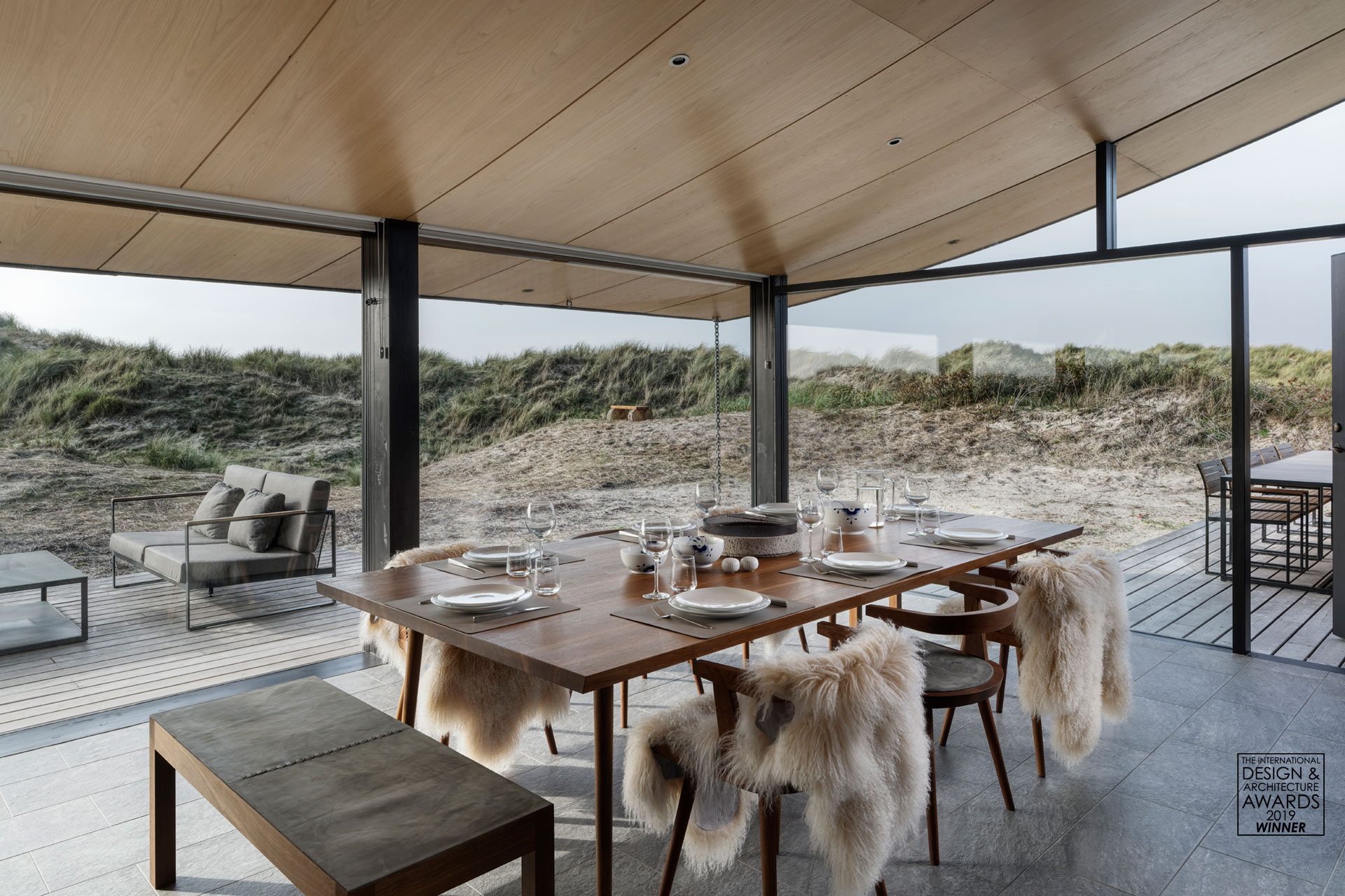 The award winning Fanø Summer House by Tollgård Design Group. Architect: Knud Holscher