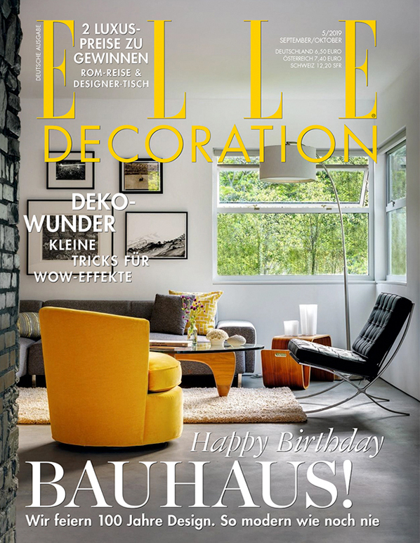 Fanø summer house featured in Elle Decoration Germany